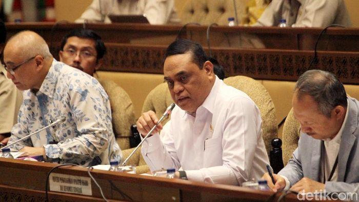 Menteri PAN-RB Syafruddin/Foto: Lamhot Aritonang
