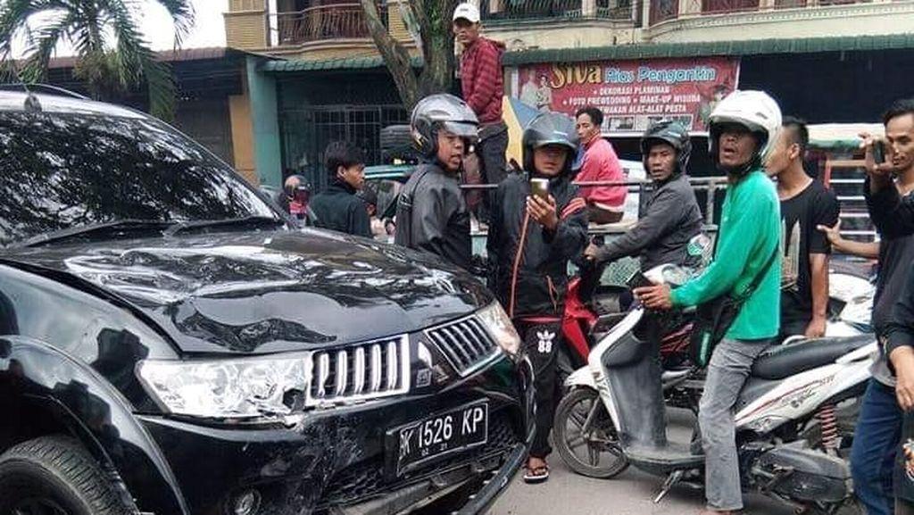 Tertabrak SUV di Medan, Mahasiswi Tewas di Tempat