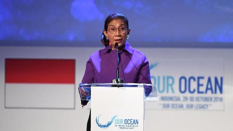Menteri Susi (Dok. ANTARA FOTO/Media OOC 2018/Irsan Mulyadi/nym.)