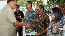Gubernur Olly Serahkan 515 Sertifikat Tanah di Minahasa Tenggara