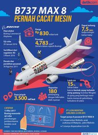Boeing Terbitkan Panduan Keamanan untuk Pesawat Boeing 737 Max 8