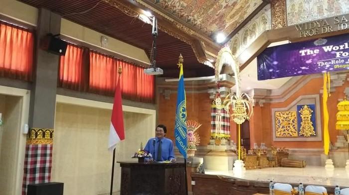 Foto: Pakar Asing di Indonesianist Forum. (Marlinda Oktavia Erwanti/detikcom).