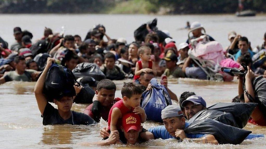 Atasi Invasi Imigran, AS Kerahkan 5 Ribu Tentara ke Perbatasan Meksiko
