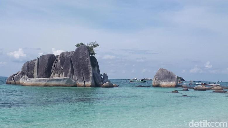 Pantai di Belitung (Afif Farhan/detikTravel)