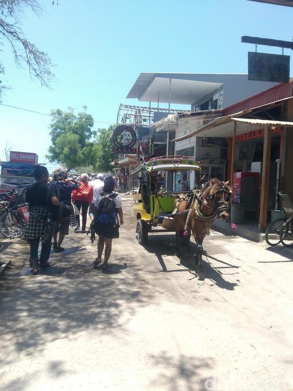 Para pelaku usaha wisata pun mengajak turis untuk kembali sama-sama membenahi Gili Trawangan (Harianto/detikTravel)