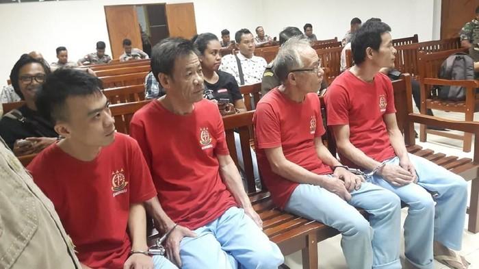 4 Penyelundup sabu sebesart 1,4 ton dihukum mati tapi belum dieksekusi (ist.)