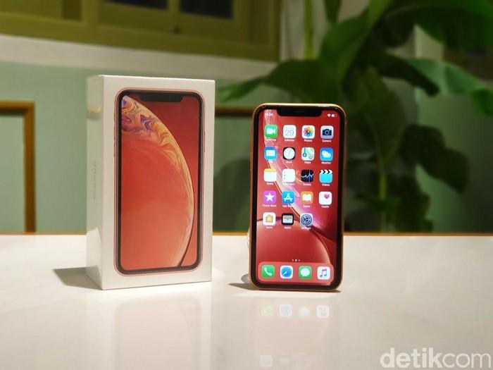 iPhone XR. Foto: Adi Fida Rahman/detikINET