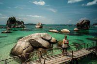 Foto-foto di Tanjung Kelayang (Sendy Aditya Saputra/Istimewa/Kemenpar)