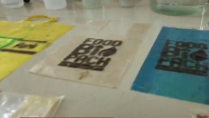 Sampah plastik yang bisa dimakan (Foto: bbc)