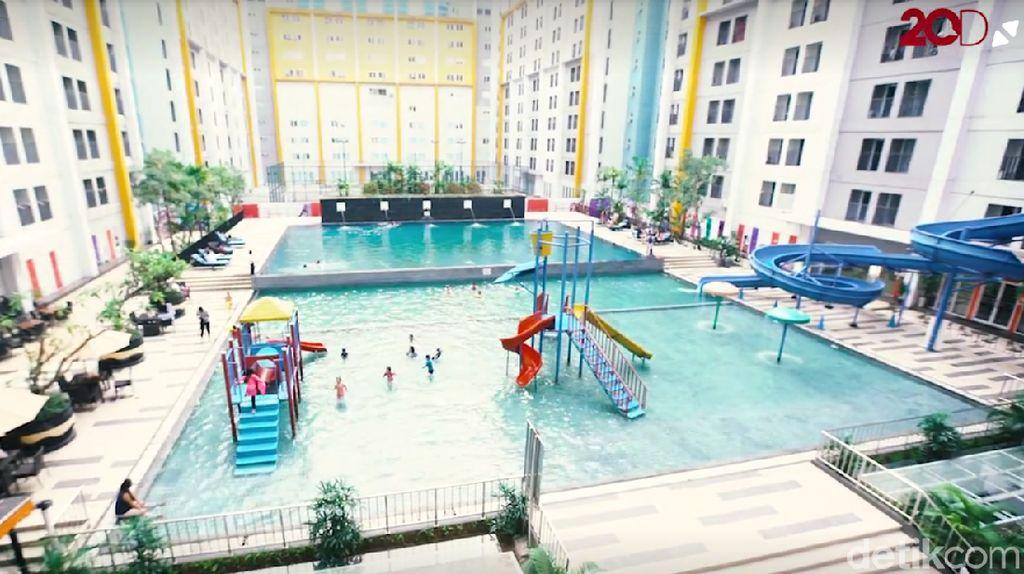 Hotel Nyaman dengan Kolam Renang Luas Untuk Liburan Keluarga