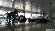 Serunya Adu Tembak Simulasi Teroris di Bandara Semarang