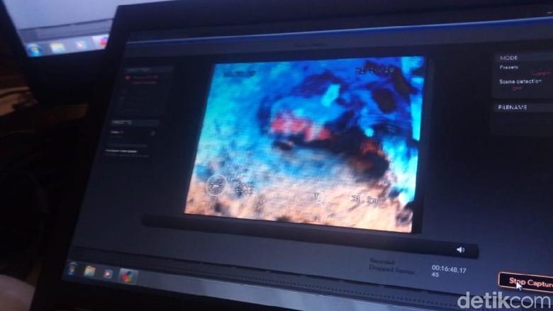 Foto: Puing Lion Air yang Ditemukan KR Baruna Jaya di Dasar Laut