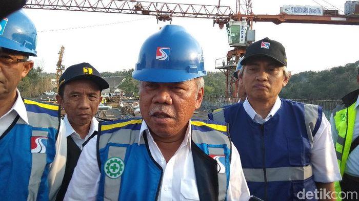 Menteri PUPR Basuki Hadimuljono Foto: Eko Susanto/detikFinance