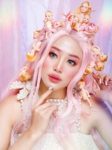 Mengenal Janine Intansari, Beauty Influencer yang Populer dengan Alis Warna-warni