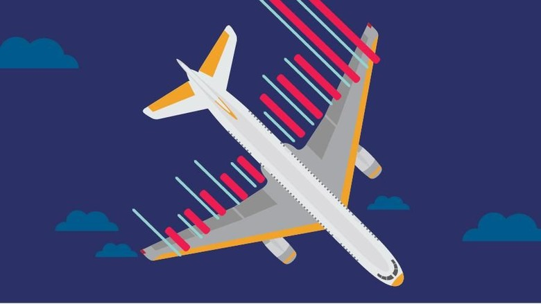 Ilustrasi kecelakaan pesawat (Kiagoos Auliansyah/detikTravel)