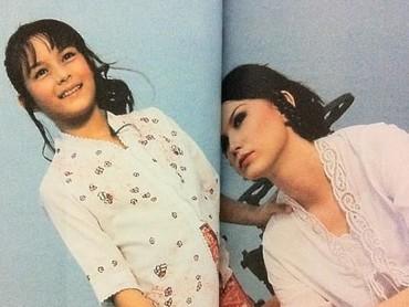 Foto ini tahun 2004, Bun. Saat Chelsea berusia 10 tahun, ternyata wajahnya sudah pernah ada di sebuah majalah. (Foto: Instagram @chelseaislan)