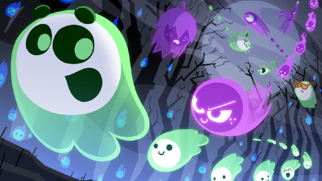 Bisa Main Game Multiplayer di Google Doodle Edisi Halloween