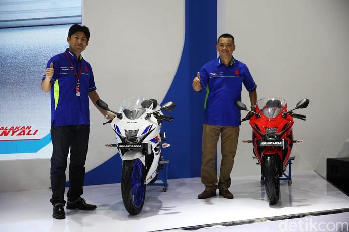 Suzuki GSX-R150 Kini Pakai Rem ABS