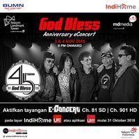 Gelar Konser 45 Tahun Berkarya, God Bless Siapkan 16 Lagu