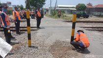 PT KAI Tutup 126 Perlintasan Liar dari Cepu hingga Tegal