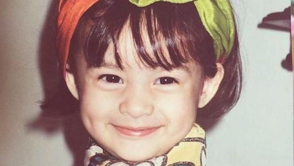 8 Foto Cute Chelsea Islan Cilik, Sudah Manis sejak Kecil