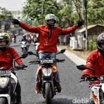 Sampai Surabaya, KTM Road Warriors 2018 Sukses