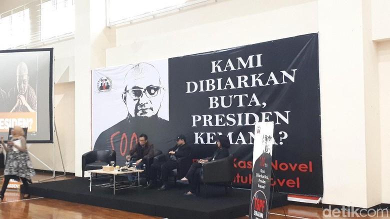 Novel Minta Pelaku Teror Segera Diungkap: Presiden Jangan Takut