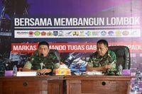 Panglima Kogasgabpad pimpin rapat evaluasi penanganan pasca-gempa NTB