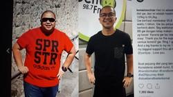 Banyak cara menjadi kurus, bisa diet atau olahraga. Beberapa selebriti ini berhasil menurunkan berat badan dengan cara yang sehat. Siapa saja mereka?