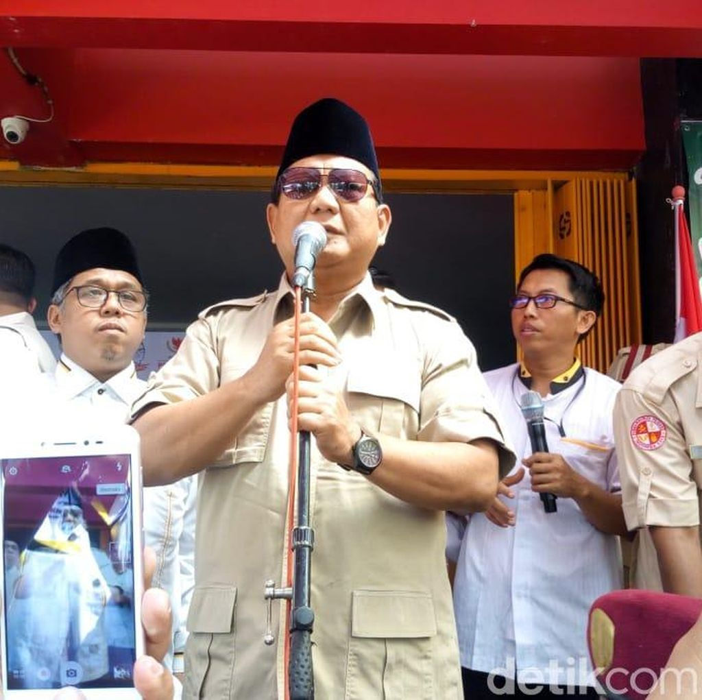 Prabowo Miris dengan Karier Pemuda Kini: Lulus SMA Jadi Sopir Ojek