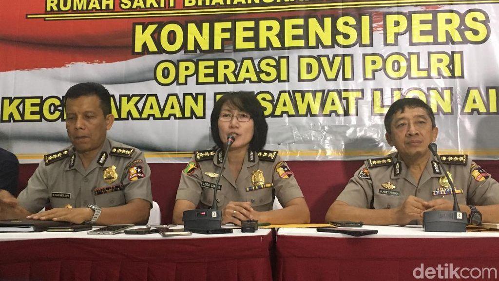 Kombes Lisda, Dokter Polwan yang Pimpin Operasi DVI Korban Lion Air