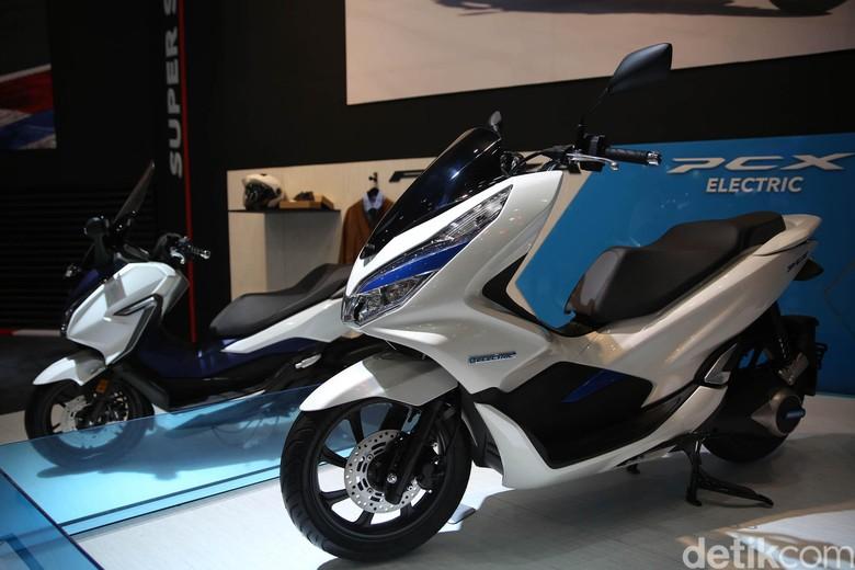 Honda PCX Electric. Foto: Agung Pambudhy