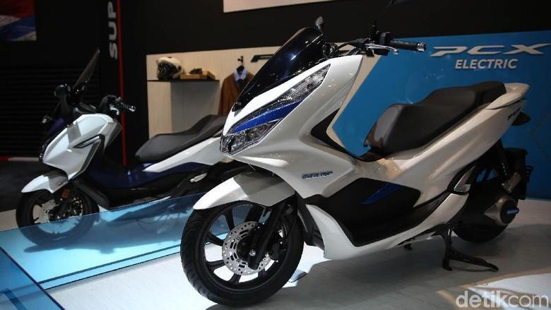 Honda PCX Electric Foto: Agung Pambudhy
