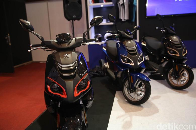Ilustrasi motor matik Foto: Agung Pambudhhy