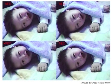 Sejak bayi, senyum Cha Eun-woo udah manis banget. (Foto: Nate Pann via kpopmap)