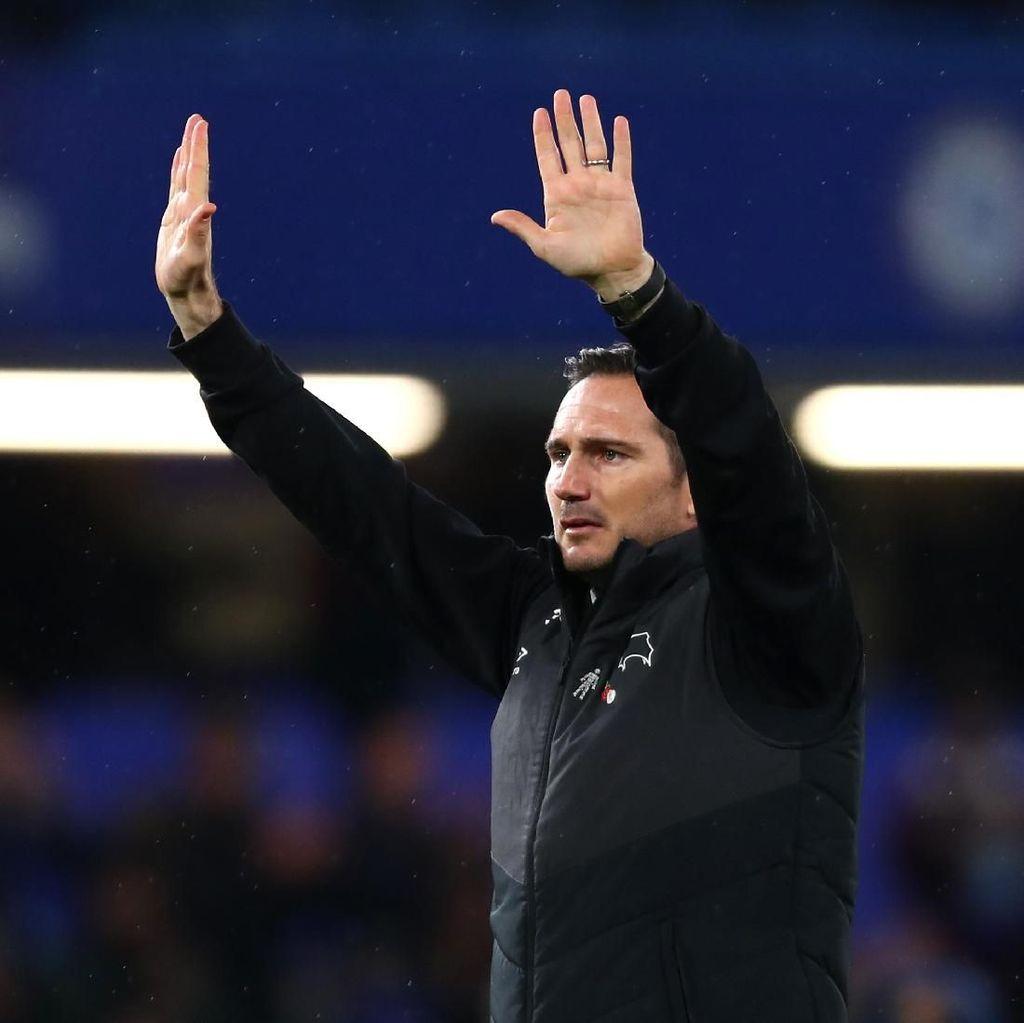 Bos Derby County Tak Heran Frank Lampard Dikaitkan dengan Chelsea