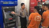 Komplotan Pembobol ATM Rp 673 Juta Diringkus, 3 Pelaku Ditembak