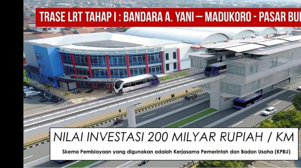 Semarang bakal Punya LRT, Ini Rincian Proyeknya
