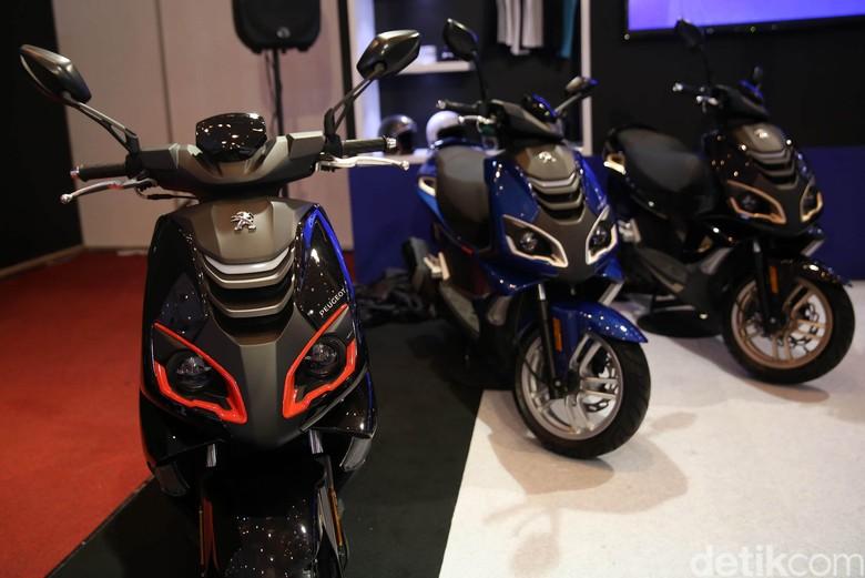 Skuter baru Peugeot untuk Indonesia. Foto: Agung Pambudhy