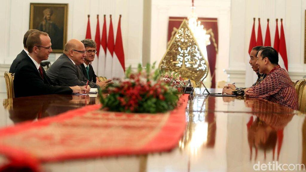 Menteri Jerman Temui Jokowi Bahas Industri hingga e-Commerce