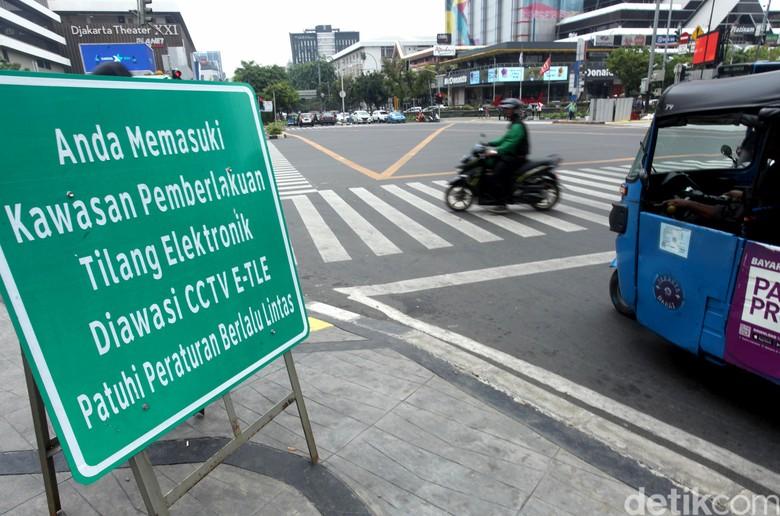 Tilang CCTV. Foto: Lamhot Aritonang