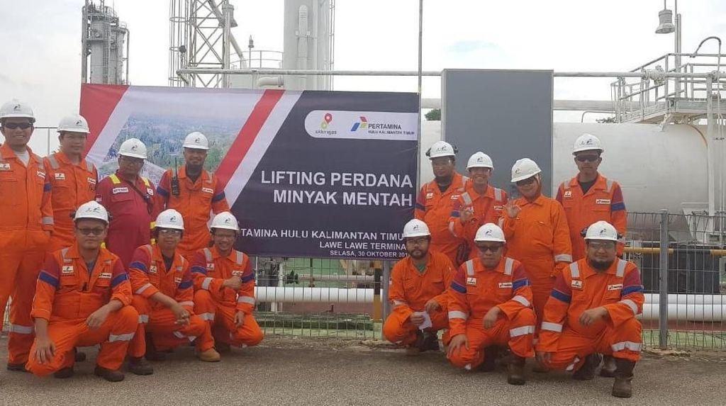 Pertamina Sukses Lifting Perdana 60.000 Barel dari East Kalimantan