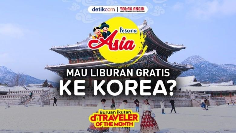 Wujudkan Mimpi Liburan Gratis ke Korea Lewat Kompetisi Bikin Artikel