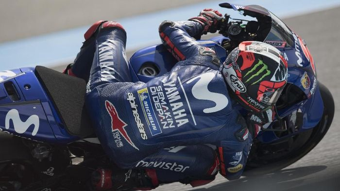 Maverick Vinales tercepat di dua hari tes MotoGP Valencia. (Foto: Mirco Lazzari gp/Getty Images)