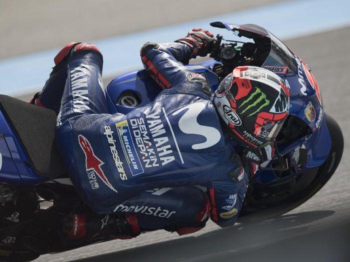 Maverick Vinales berharap bisa menjaga momentum kemenangan saat tampil di MotoGP Malaysia (Mirco Lazzari gp/Getty Images)