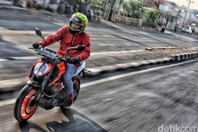 Ilustrasi Motor KTM di Indonesia Foto: Pradita Utama