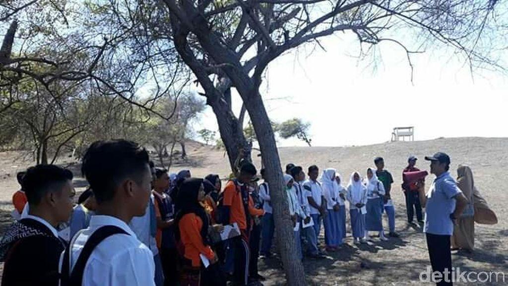 Ketika Siswa SMA Belajar Soal Gunung Tambora, Inilah yang Terjadi