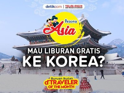 Mau ke Korea Gratis? Ayo Ikut dTraveler of The Month November!