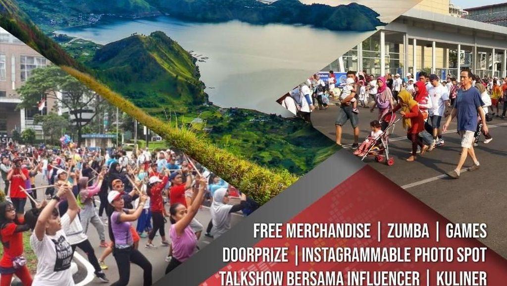 Festival Wisata Danau Toba Hadir di CFD Jakarta