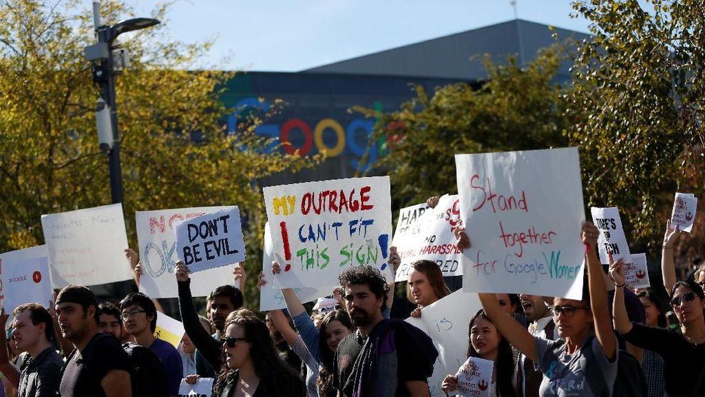 Pendemo Google Tembus 20 Ribu Orang